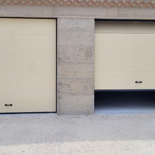 Porte sectionnelle industrielle