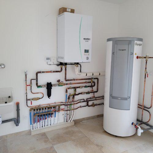 Chauffe-eau thermodynamique et pompe à chaleur